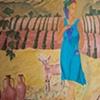 Detail of Geshin-anna mural
