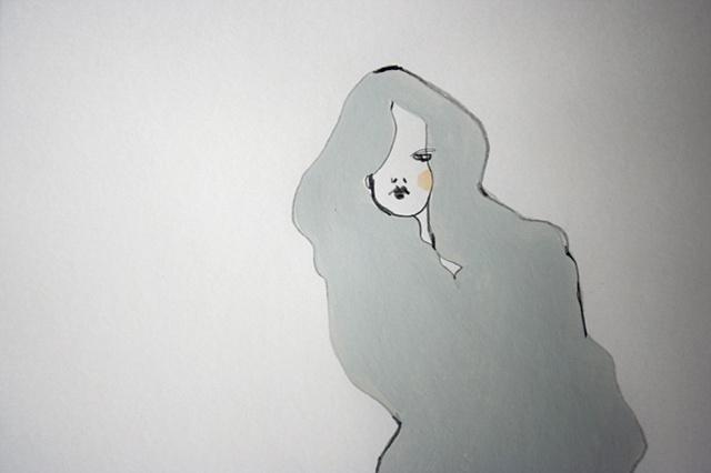 dove grey - detail