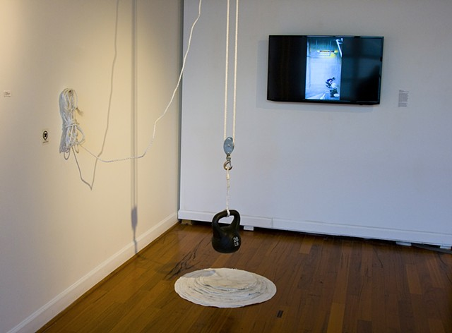 Installation image of Second Trimester Project