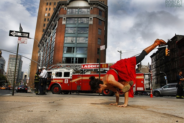 Ladder 8 Arm Balance ~ NYC