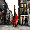 New York City Standing Splits