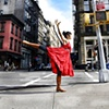 Dancing Goddess in the Streets of NY
