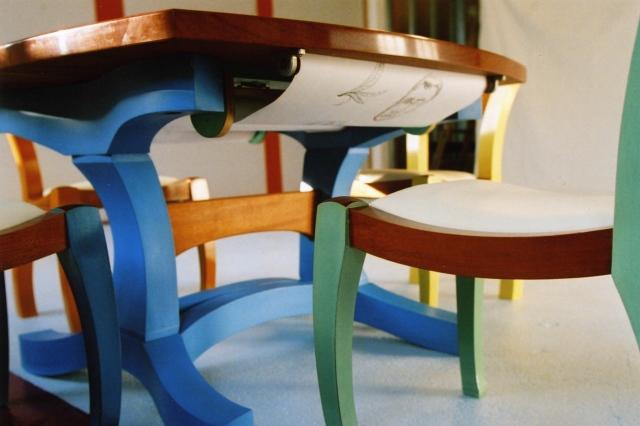 Kid's Draing Table, Detail