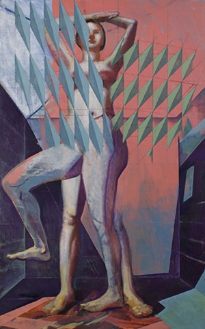 Figure, Pattern, Cubism, Surrealism,