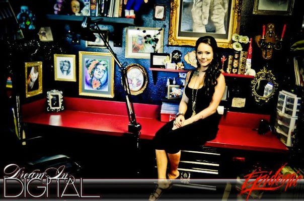 Courtney Senger Temecula Tattoo Artist Picture