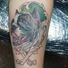 Midge Portrait Tattoo