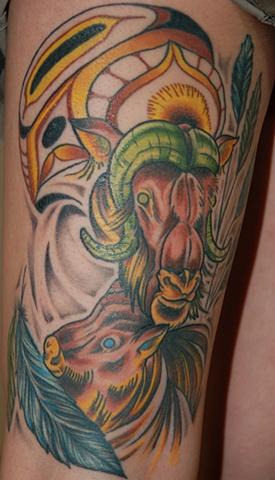 Ox Tattoo Designs