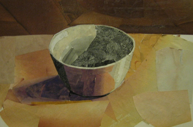 Collage Bowl Study