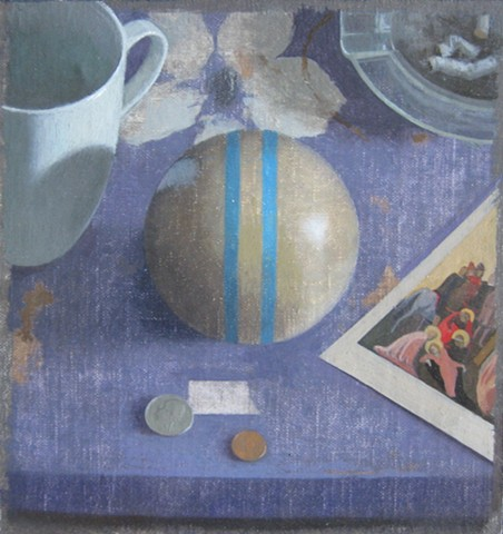 Coffee, Cigarettes, Croquet Ball, and Fra Angelico