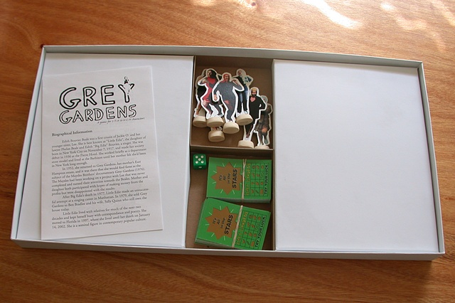 Grey Gardens Board Game (game pieces)