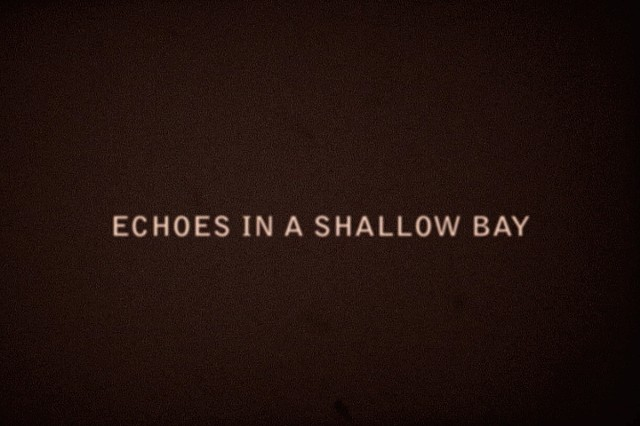 ECHOES IN A SHALLOW BAY