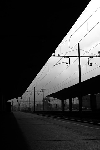 "///// 'Ljubljana Train Station I, Slovenia'  digital print 8.5"" x 12.5"" 2016"
