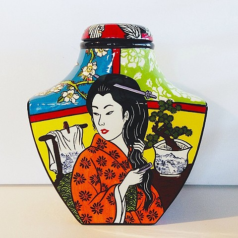 GEISHA GINGER JAR