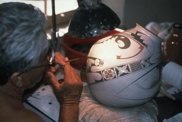 juan Quezada painting