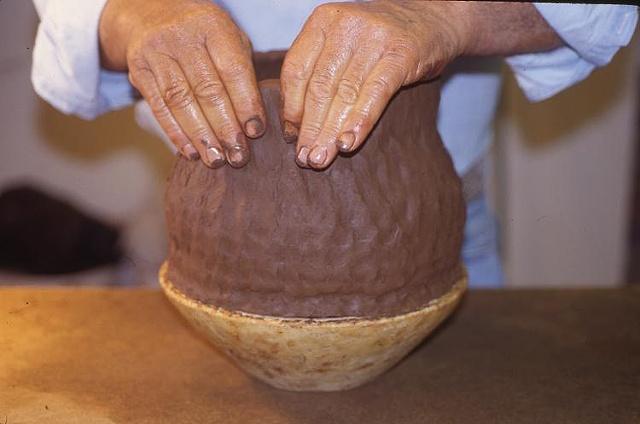 Juan Quezada Handbuilding 11x9 chocolate piece