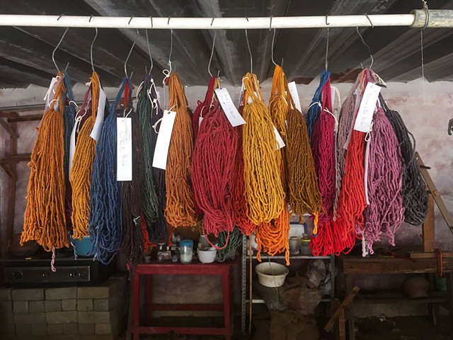 42 Natural Dye Colors