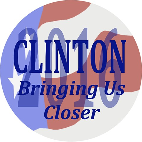 Clinton: 2016 (Button Design)