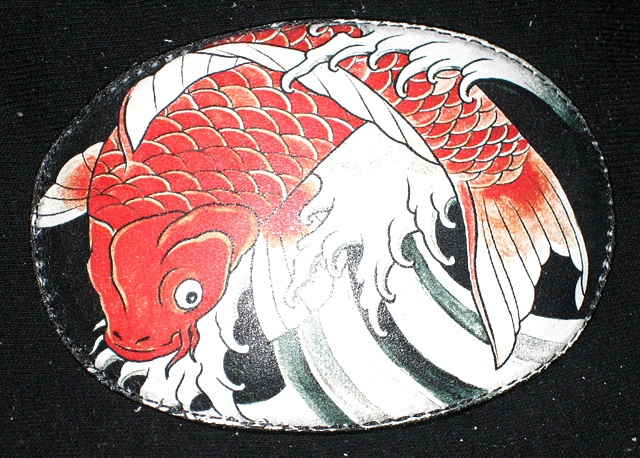 KOI BELT BUCKLE