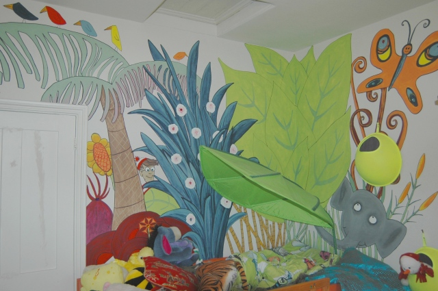 Mural, Private Residence, London
