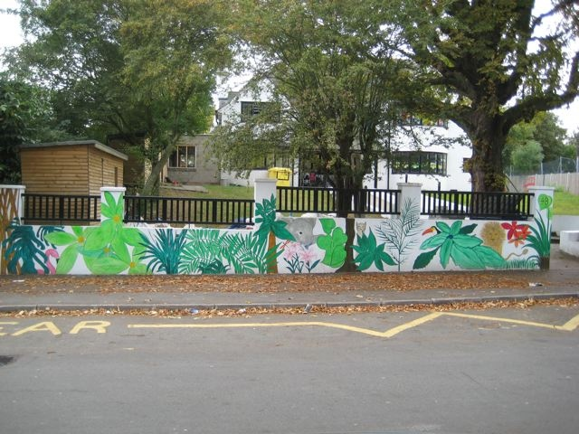 Mural, Cherubins Day Nursery, London