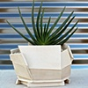 large architecturally-inspired planter- SOLD