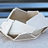 medium architecturally-inspired planter