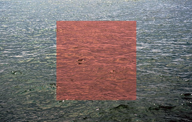 ebb and flow, red