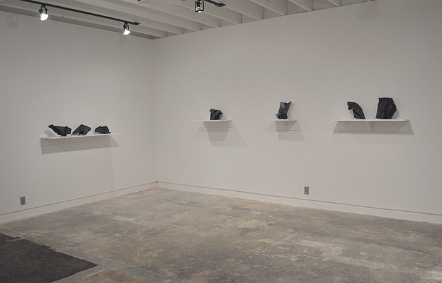 Untitled, Line Studies installation