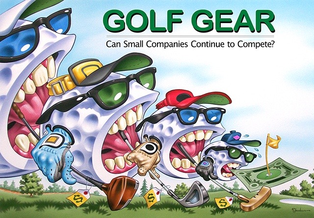 Golf Gear Wars