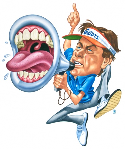 Steve Spurrier and His Mouth