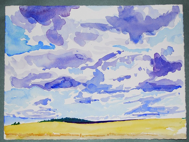 Purple Sky - Oregon
