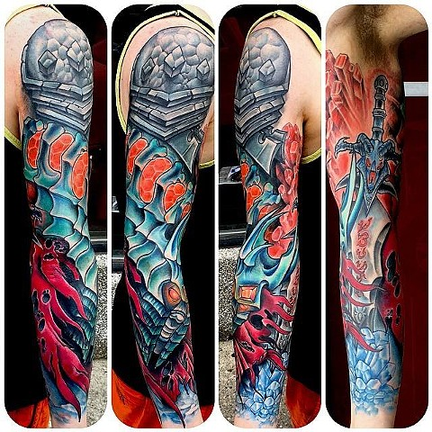 Warcraft sleeve