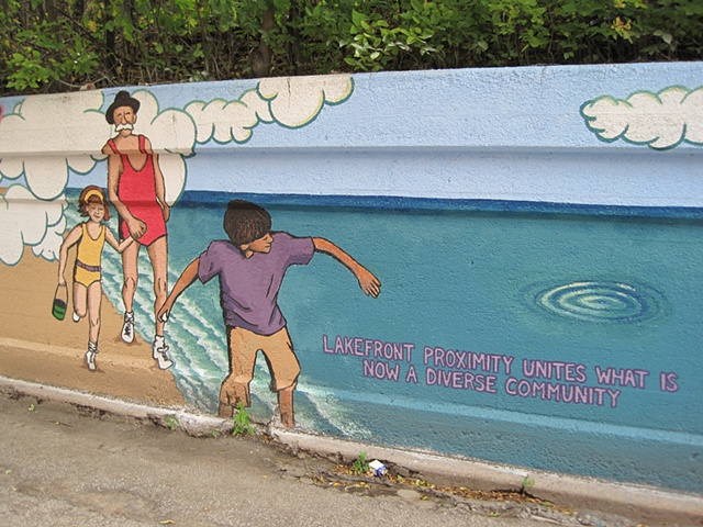 Rogers Park Mural: Connect Origins to Destinations