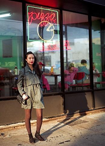 """Olivia Callender © """"street fashion"""" Brooklyn, NY, 2013"""