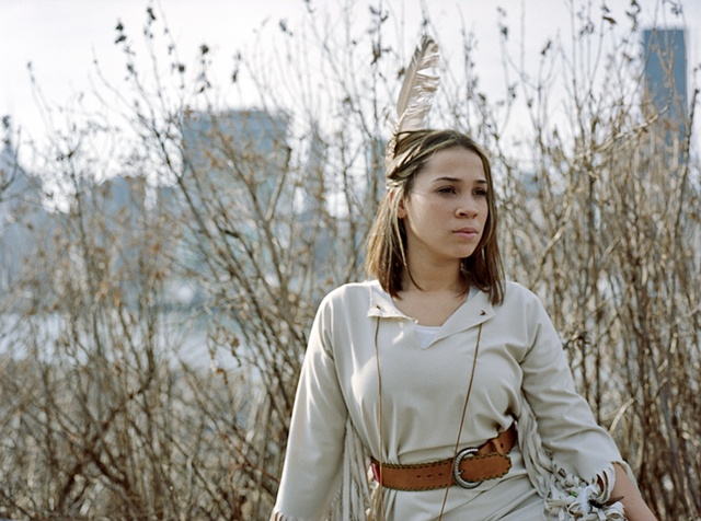 Lauren as Native American