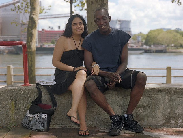 Tee and Alfonzo, Residents for 24 years, Roosevelt Island, July 2013