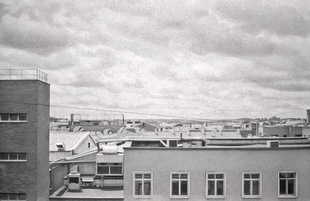 Roof top view, Madrid, Spain, 2010