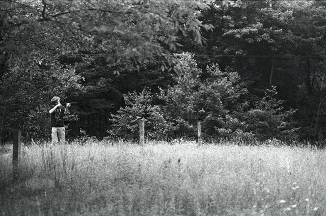 Mac and gun, Poland, NY