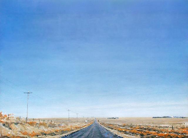 "Western Plains 48""x66"" Oil"