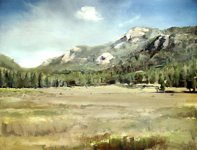 "Colorado. Rocky Mountain National Park  24""x32"" Oil"