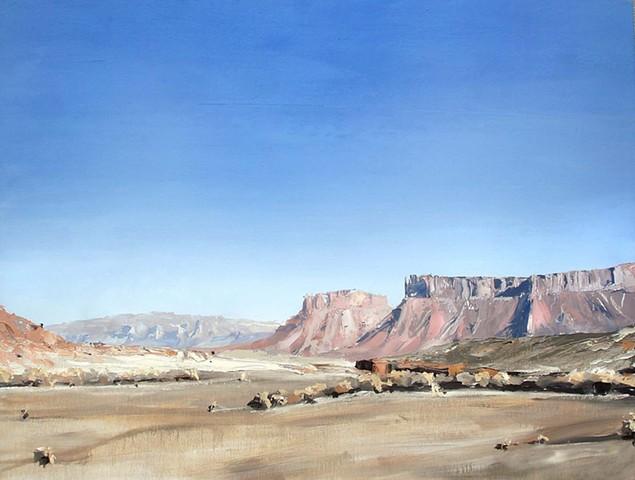 """Utah. Moab   32""""x42"""" Oil"""