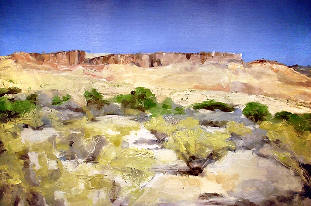 "Texas. Big Bend National Park 16""x24"" Oil"