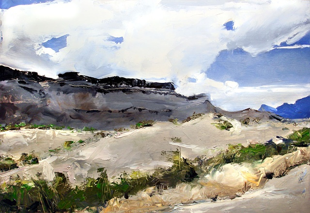 "Texas. Big Bend National Park  21""x31"" Oil"