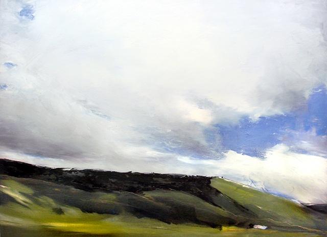 """Colorado. Cloud  21""""x27"""" Oil"""