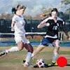 "Sports Portrait #2 12""x16""  Oil on wood"