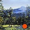 """Colorado. Rocky Mountain National Park  21""""x29"""" Oil"""