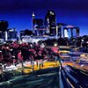 """'Raleigh City'  20""""x24"""" Oil on wood"""