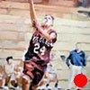 "Sports Portrait #3 12""x16"" Oil on wood"