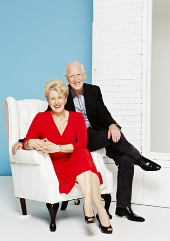 TV Week - Home and Away 25 Year Reunion: Debra Lawrance and Dennis Coard