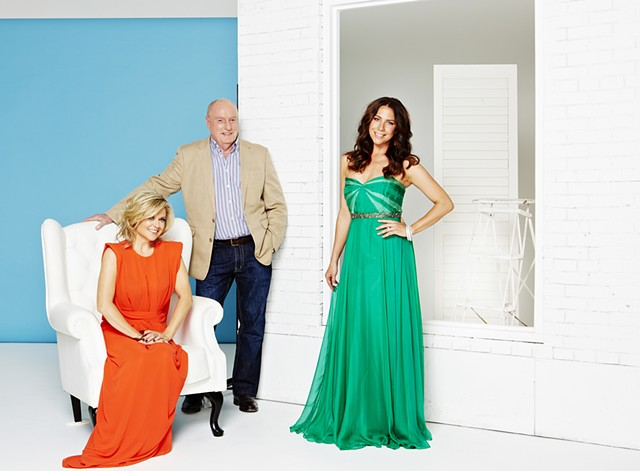 TV Week - Home and Away 25 Year Reunion: Emily Symons, Ray Meagher and Kate Ritchie